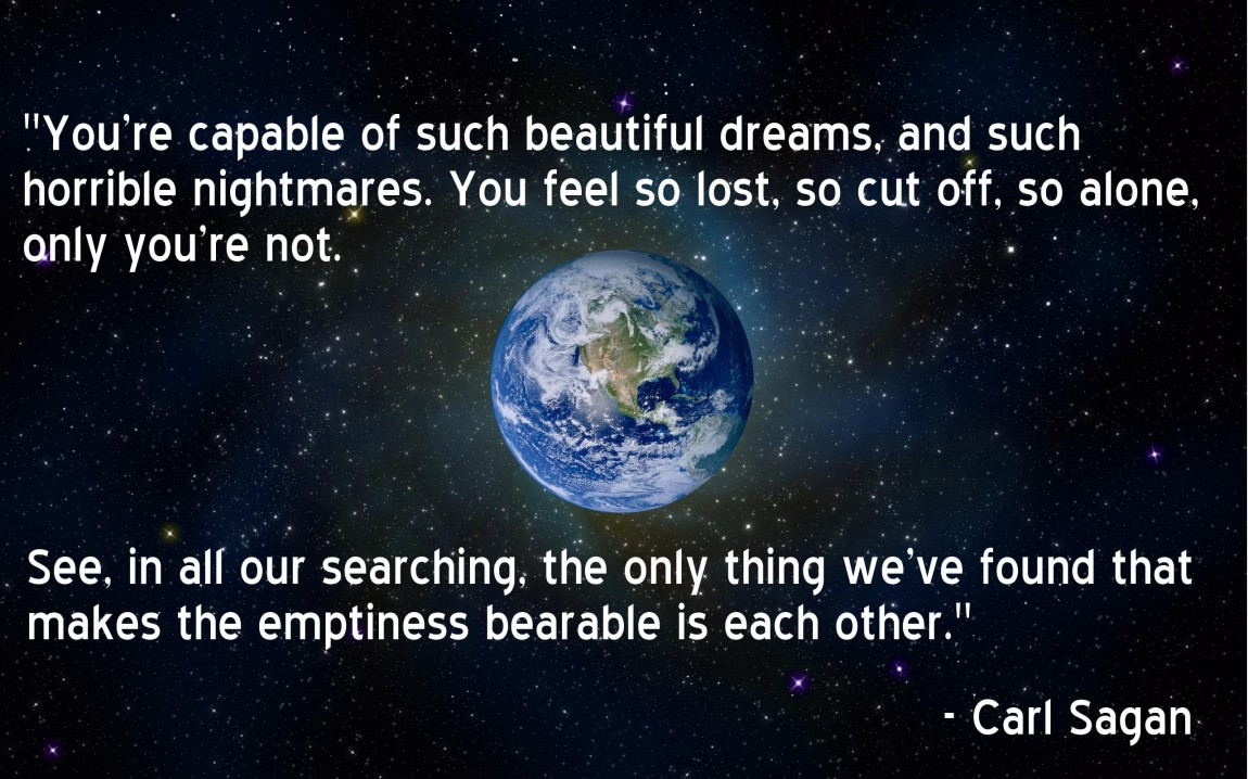 Carl Sagan quote 2